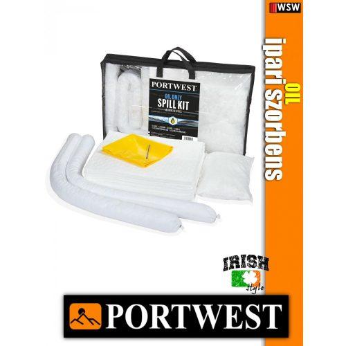Portwest SM61 olaj szorbens készlet 50 liter - ipari szorbens - 3 db