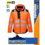 Portwest PW3 ORANGE jólláthatósági vízálló munkakabát - munkaruha