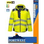 Portwest PW3 YELLOW jólláthatósági vízálló munkakabát - munkaruha