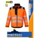 Portwest PW3 ORANGE jólláthatósági munkakabát - munkaruha