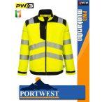 Portwest PW3 YELLOW jólláthatósági munkakabát - munkaruha