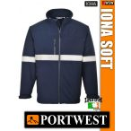 Portwest IONA NAVY SOFTSHELL kabát - munkaruha