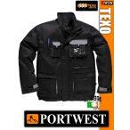Portwest TEXO BLACK-GREY munkakabát - munkaruha